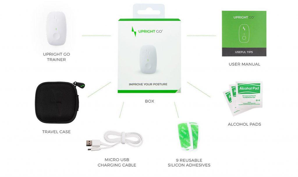 Upright Go posture device kit