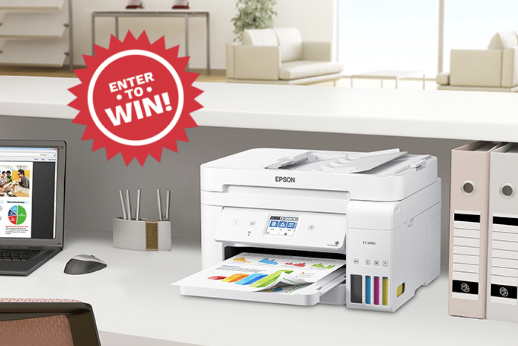 WIN AN EPSON ECOTANK ET-4760 PRINTER WORTH $599 CAD