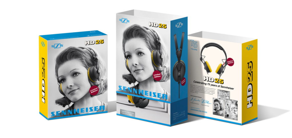 Sennheiser HD25 Special Edition Box