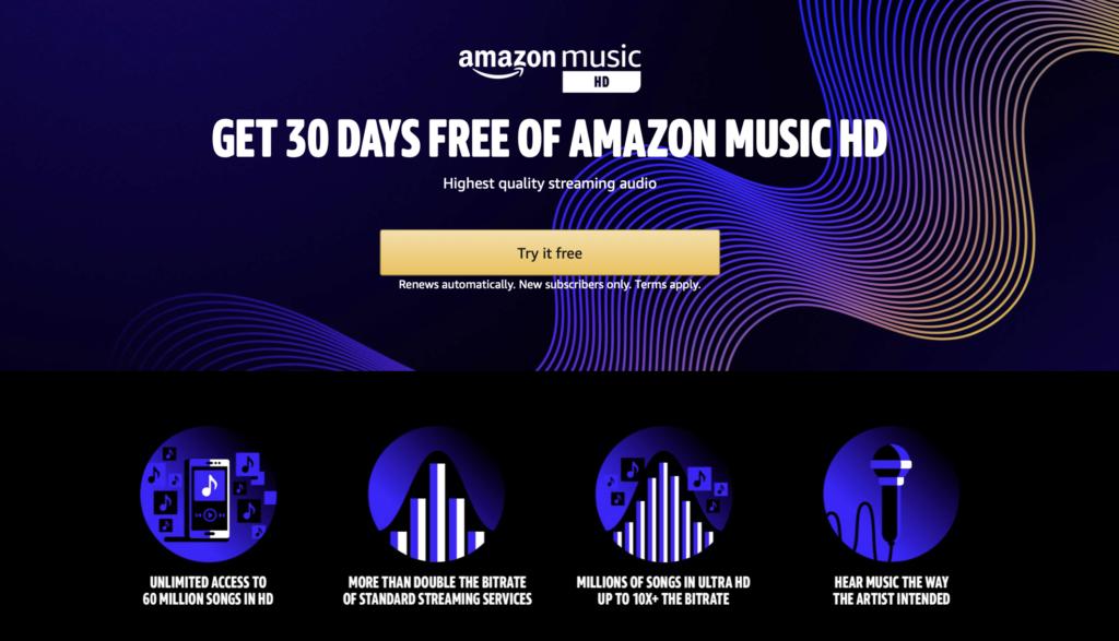 Amazon HD Audio Features