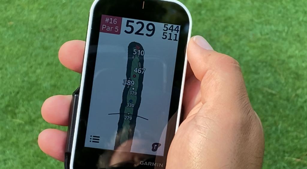 Garmin GPS hole layout