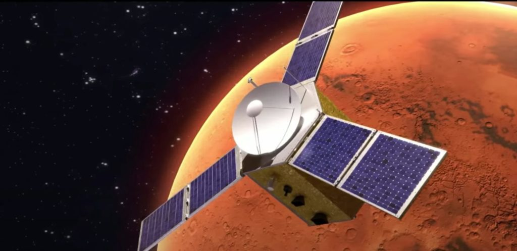 Hope orbiting Mars to collect data
