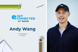 Andy Wang, Co-Founder of Vessi Waterproof Knit Sneakers